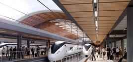 HS2 Curzon Street station concept