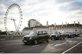LEVC hybrid electric London taxi