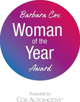 Barbara Cox Woman of the Year Award logo