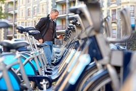 bikes to hire on street