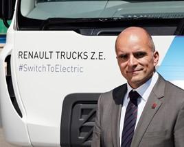 Carlos Rodrigues, Managing Director, Renault Trucks UK & Ireland