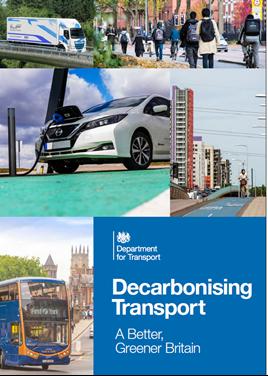Decarbonising transport cover