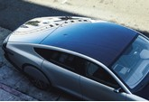 Solar roof on Lightyear One EV prototype