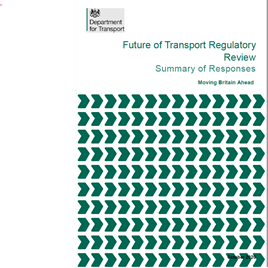 The Future of Transport Regulatory Review cover