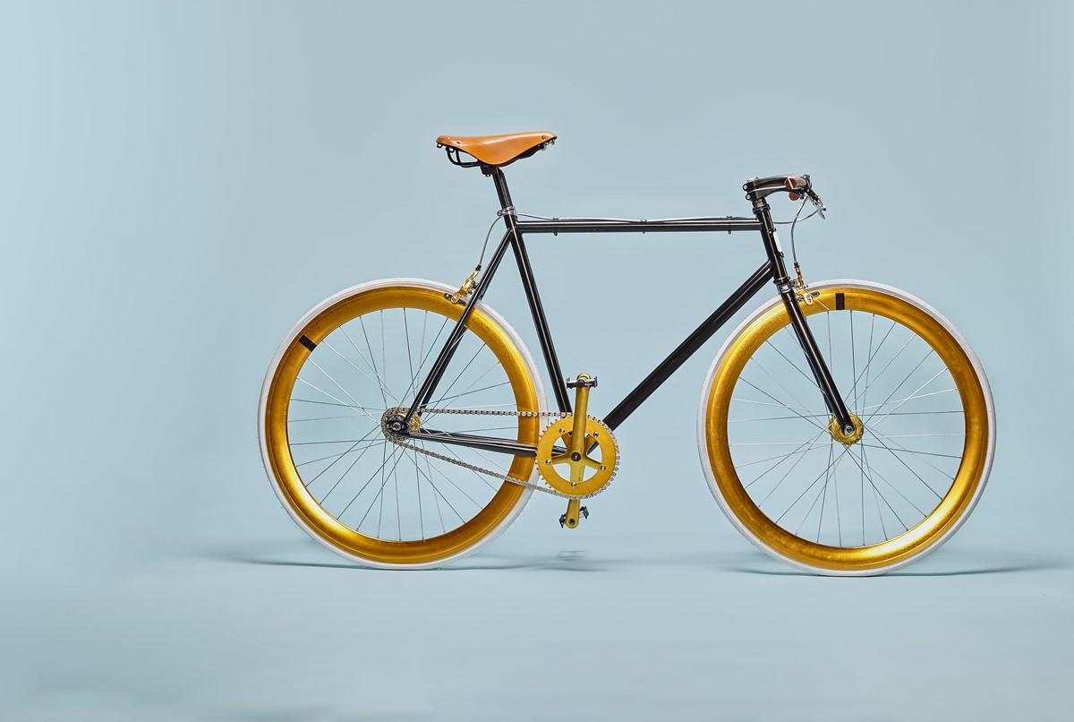 gold bike