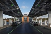 Gridserve's Electric Forecourt in Braintree, Essex