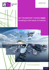 UK Transport Vision 2050 report cover