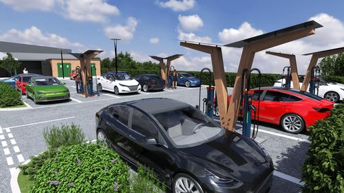 Kempower charging hub