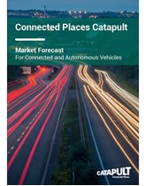 Market forecast for connected and autonomous vehicles