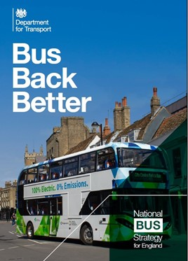 Bus back better: national bus strategy for England cover