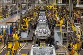 Nissan Juke production body shop
