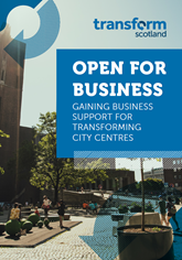 Open for business report cover