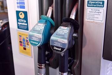 Petrol and diesel fuel pumps