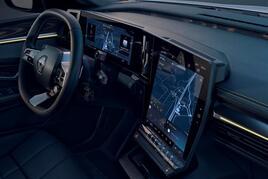 Renault Megane E-Tech infotainment system
