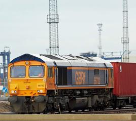 GBRF locomotive