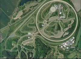Millbrook Proving Ground Aerial