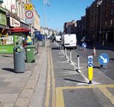 Dublin pedestrian pavement extensions
