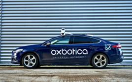 Oxbotica test vehicle