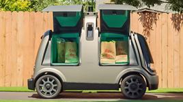 Nuro R2 autonomous delivery vehicle