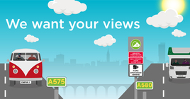 Manchester clean air zone illustration