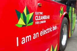 Transport for London electric bus