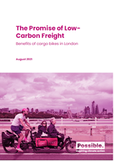 The promise of low-carbon freight report cover