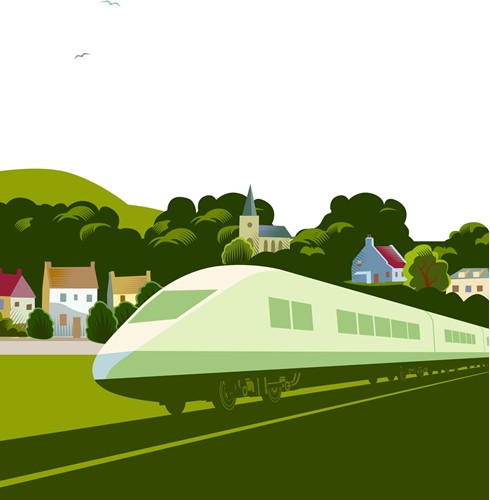 rail image train artwork